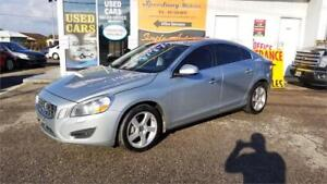 2012 Volvo S60 T5 - Leather, Sunroof, Bluetooth, Certified