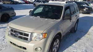 2008 Ford Escape XLT 4WD V6  1 year free  warranty