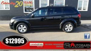 2015 DODGE JOURNEY SE - 7 PASSENGER, CRUISE, BLUETOOTH, REAR AIR