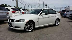 2011 BMW 328 XDRIVE 1 OWNER WHITE ON BLACK  SAFETY ETESTED