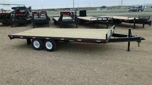 2017  20' DECK OVER / HIGHBOY (14,000LB GVW) Double A