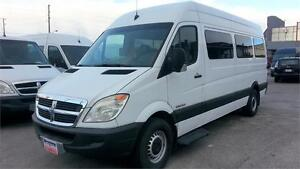 "2008 Dodge Sprinter 7 PASS, H-ROOF, DIESEL, PWR. RAMP, 170""WB"