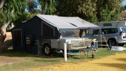 *holiday price* 2009 Modcon Off Road Camper Trailer Rear Fold