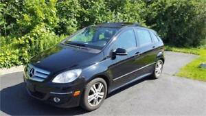 2007 MERCEDES-BENZ B200 PANORAMIC SUNROOF KM:156,000 CERTIFIED