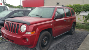 2007 Jeep Patriot 4X4 SPORT AUTOMATIC GARANTIE 1 ANS