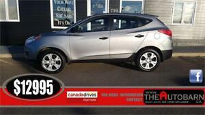 2013 HYUNDAI TUCSON GL - Automatic, Bluetooth, heated seats.