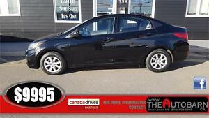2013 HYUNDAI ACCENT GL - CRUISE, HEATED SEATS - ONLY 58000KM