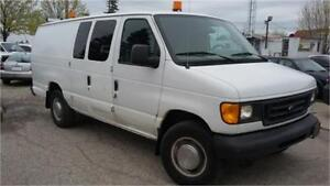 2003 Ford E-250 - EXTENDED cargo van, Tow Package, ONLY 90000KM!
