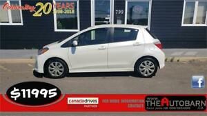 2013 TOYOTA YARIS SE HATCH - AUTO, FULLY LOADED, KEYLESS, TINT