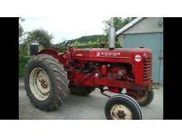 McCormick International B450 Diesel Tractor