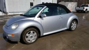 VOLKS NEW BEETLE TURBO+CONVERTIBLE+CUIR+MAGS+++