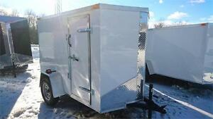 IN STOCK** New 5x8 x 63''High RAMP DOOR WHITE