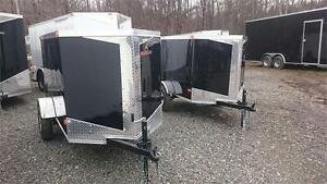 ** NEW 4X8 ENCLOSED CARGO FOR ONLY 2095$+TX
