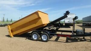 2018  14FT Roll Off Dump Trailer (14,000LB GVW) Double A
