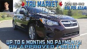 AWD Subaru Impreza!! Up to 6 months No Payments!!