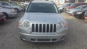 2008 JEEP COMPASS AUTOMATIC 4X4 SAFETY WRRANTY EXCELLENT CONDITI