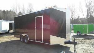 NEW 8,5X20 7'3''HIGH ENCLOSED TRAILERS 5200lbs axle