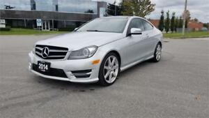 2014 Mercedes-Benz C350 Coupe 4Matic| Accident Free | Navi | AMG