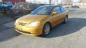 HONDA CIVIC SI 2001 AUTOMATIQUE**VISA*MASTER*CARD**ACCEPTÉ***