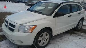 2007 DODGE CALIBER SXT LOW KMS LIKE NEW DRIVES GREAT