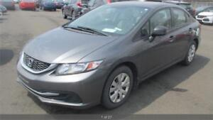 2013 Honda Civic Sdn DX LOW KM CERTIFIED ONE OWNER