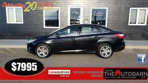 2012 FORD FOCUS SEL SEDAN = 4cyl automatic, fully loaded, cruise