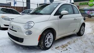 2012 FIAT 500 Pop -- 1 YEAR WARRANTY INCLUDED!