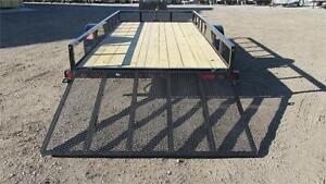 """NEW 2017 LOAD TRAIL 77"""" x 12 FT SINGLE AXLE UTILITY TRAILER!"""