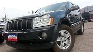 2007 Jeep Grand Cherokee Laredo 4WD, DIESEL, LEATHER