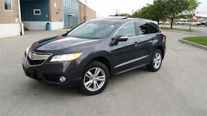 2013 ACURA RDX AWD 1 OWNER ACCIDENT FREE LOCAL ONTARIO CAR