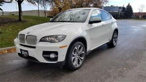 2011 BMW X6 50i|Accident Free|Navi|Chateau Leather|400 HP!!