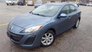 2011 Mazda3 SPORT ALLOYS Sedan-CERTIFIED