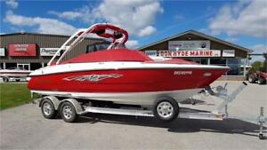 Monterey 224FS Wake For Safe (2016) with Trailer