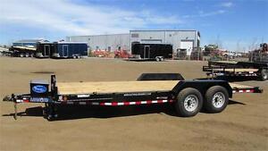 """2017 Load Trail carhauler 83""""x 18 ft tandem (14,000 lbs gvw)"""