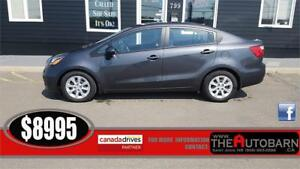 2014 KIA RIO SEDAN - CRUISE, BLUETOOTH, HEATED SEATS.