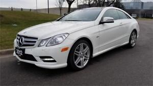 2012 Mercedes-Benz E350 4Matic Coupe | AMG Sports Package |