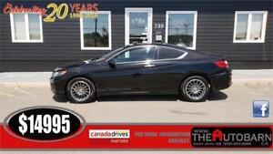 2014 HONDA ACCORD EX COUPE - CRUISE, MOONROOF, BACKUP CAM