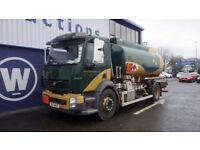 2009 Volvo FH 4x2 12000 Litre fuel Tanker for Auction