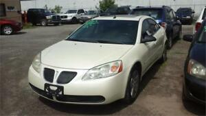 2009 Pontiac G6 SERUN AND DRIVES AS.IS DEAL