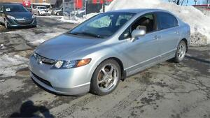 HONDA CIVIC LX 2006 AUTOMATIQUE*GARANTIE 1ANS OU 15000KM INCLUS*