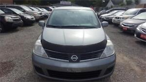 2008 NISSAN VERSA MANUAL 5 SPEED HATCHBACK WITH SAFETY