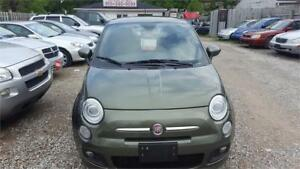 2012 FIAT 500 SPORT AUTOMATIC COUPE WITH SAFETY AND WARRANTY