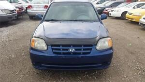 2005 HYANDAI ACCENT AUTO LOW MILLAGE NO ACCIDENT ONE OWNER