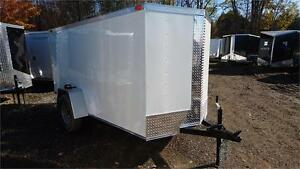 NEW 5X10 ENCLOSED TRAILERS 2017