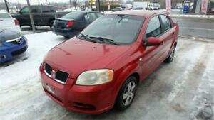 2007 Pontiac Wave A/C pneus hiver! ready to go