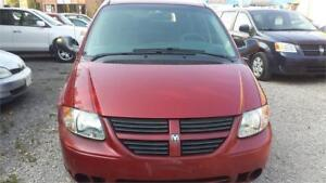 2006  DODGE GRAND CARAVAN STOW & GO WITH SAFETY