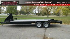 EQUIPMENT HAULER - DECK OVER 8.5 x 20 with Beaver tail