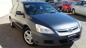 2006 Honda Accord Sdn SE With Safety Cirtificate