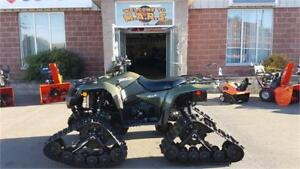 Ultimate ATV Winter Package with Tracks and FREE TRAILER
