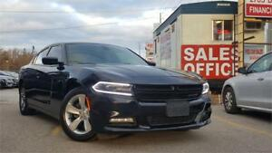 2015 Dodge Charger SXT|LEATHER|ACCIDENT FREE|